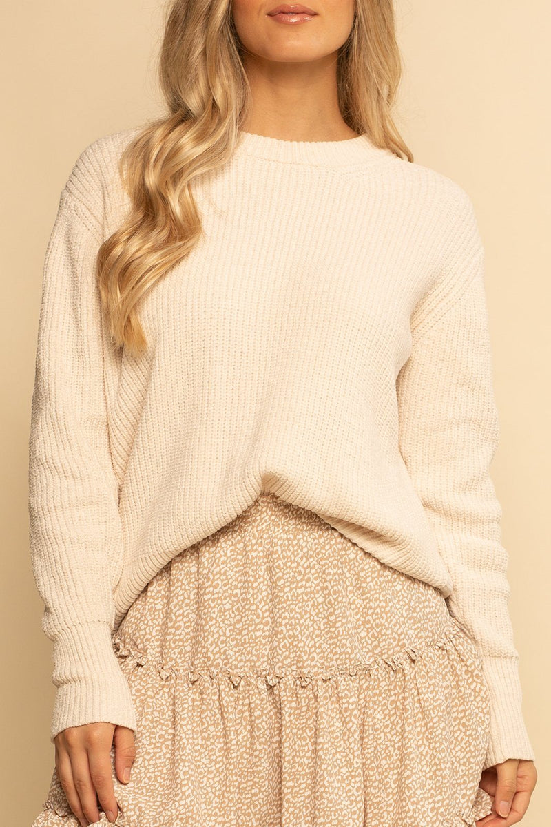 PREORDER | Sun Valley Sweater - Ivory