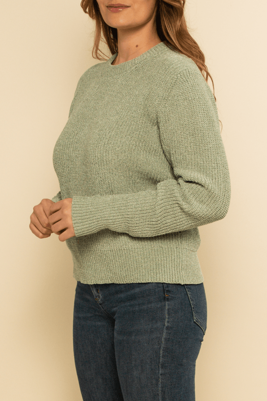 Sun Valley Sweater - Sage - Shore