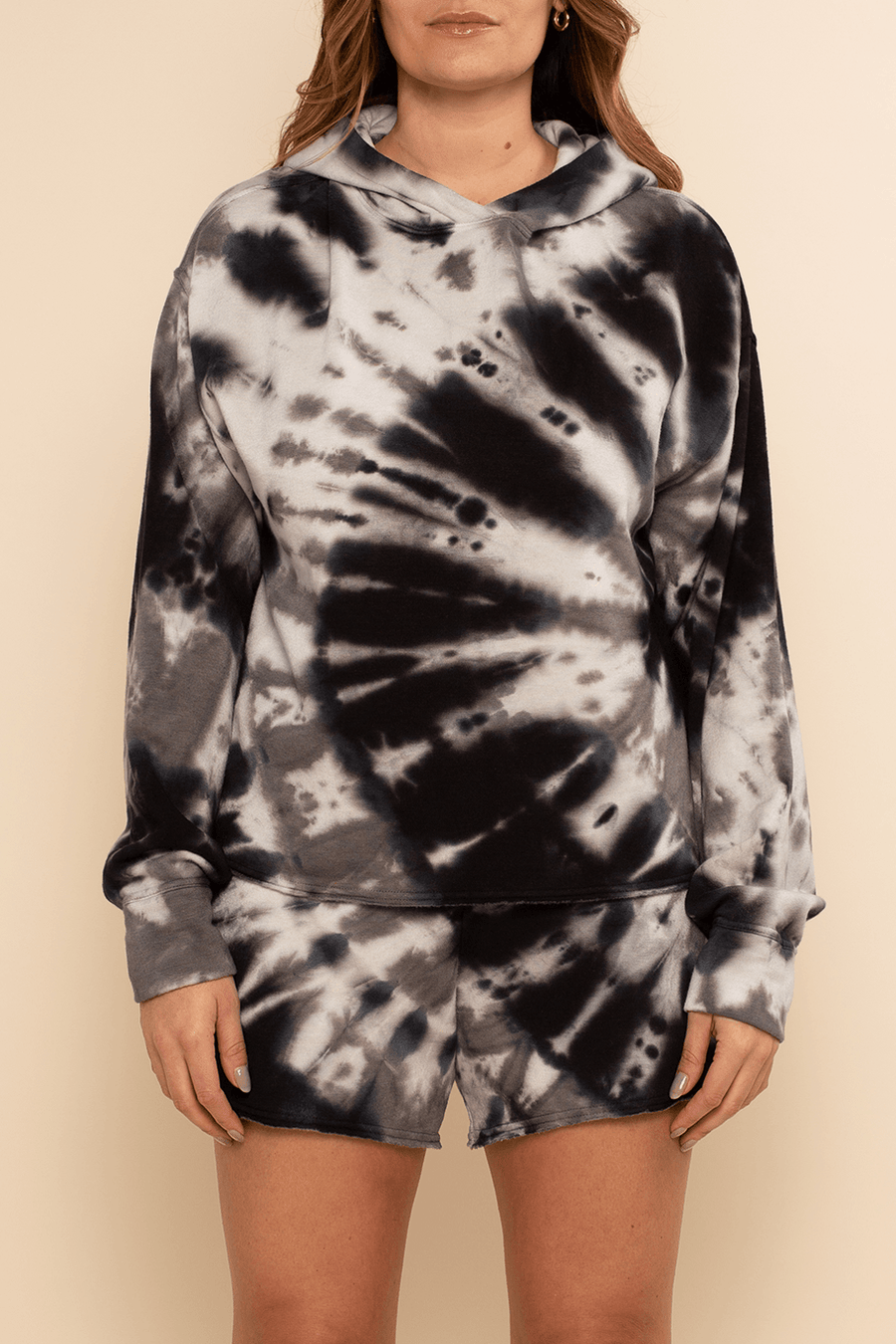 Lounge Short - Black Tie Dye - Shore