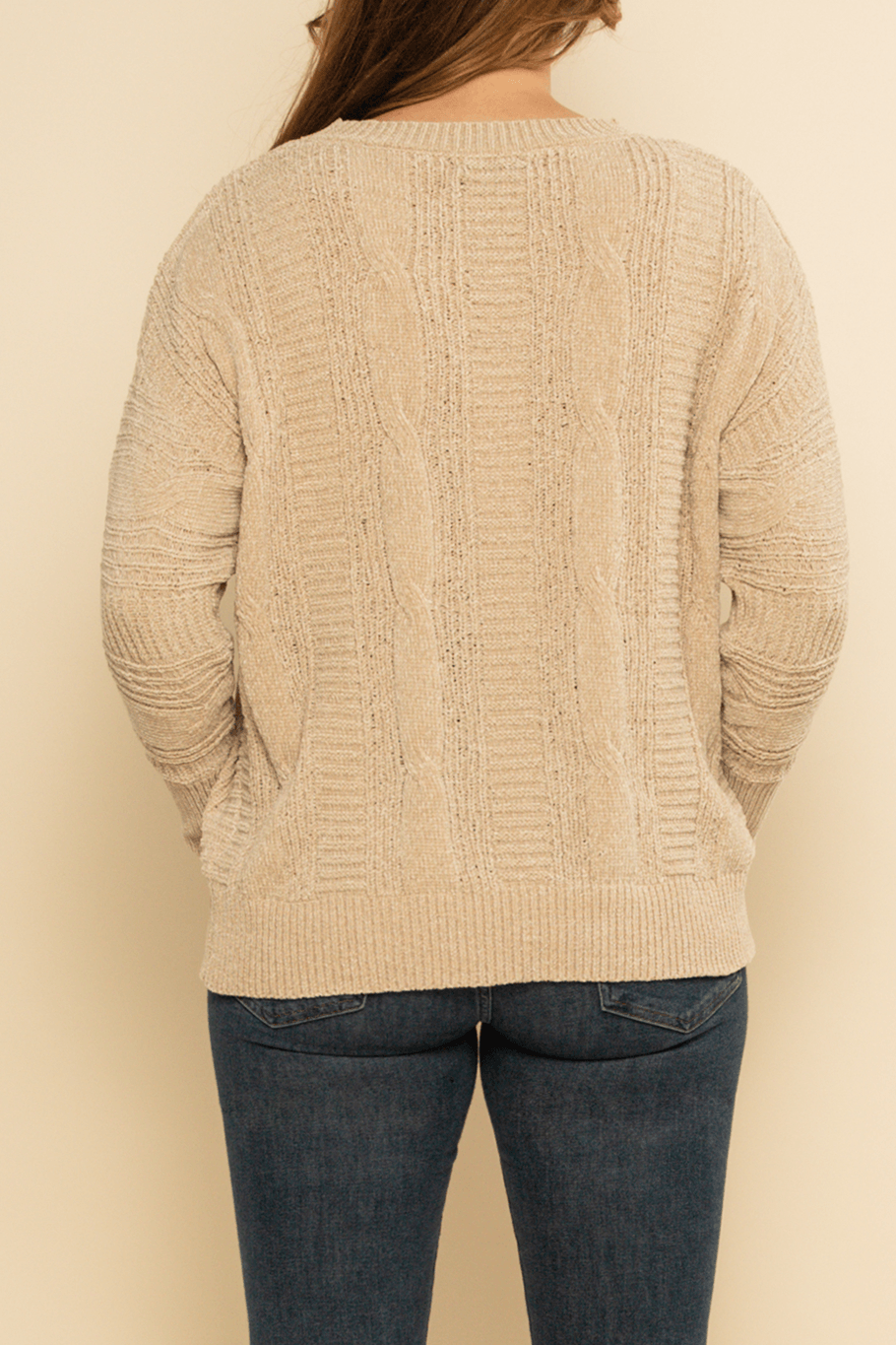 Fairbanks Sweater - Cream - Shore