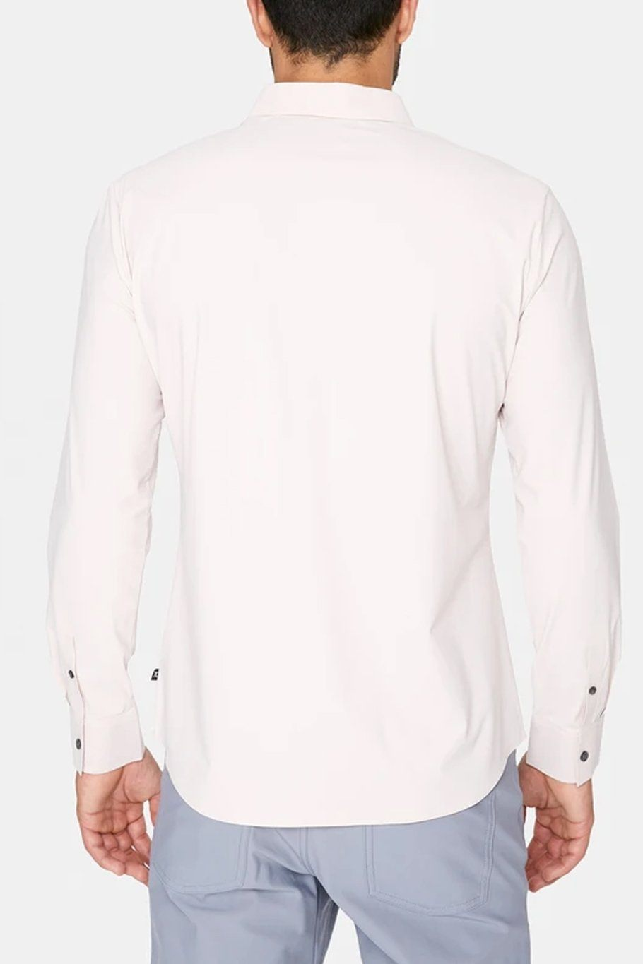 Young Americans 4-Way Stretch Luxseam Shirt - Rose Quartz - Shore