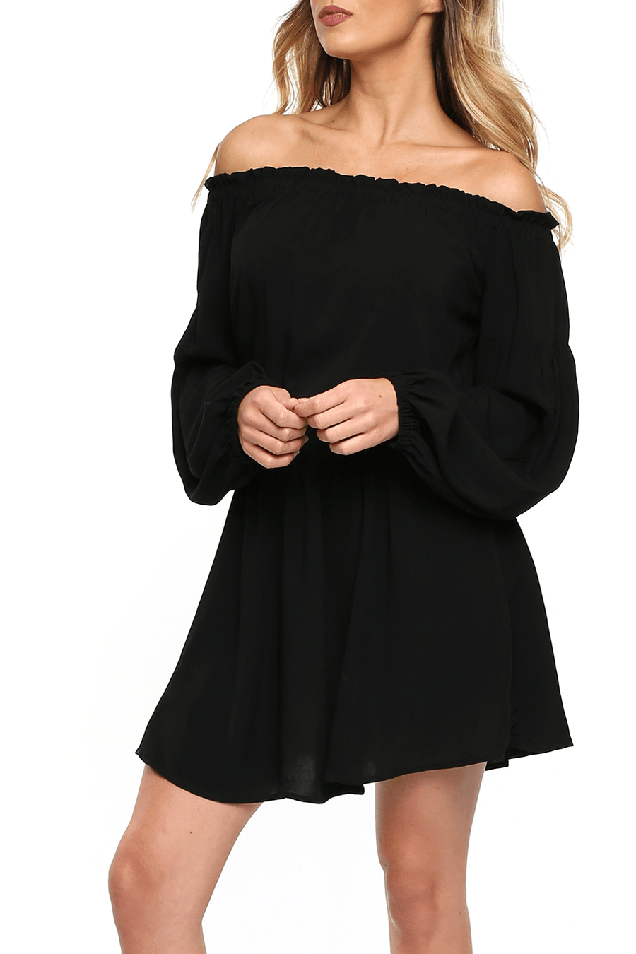 Argentina Mini Dress - Black - Shore