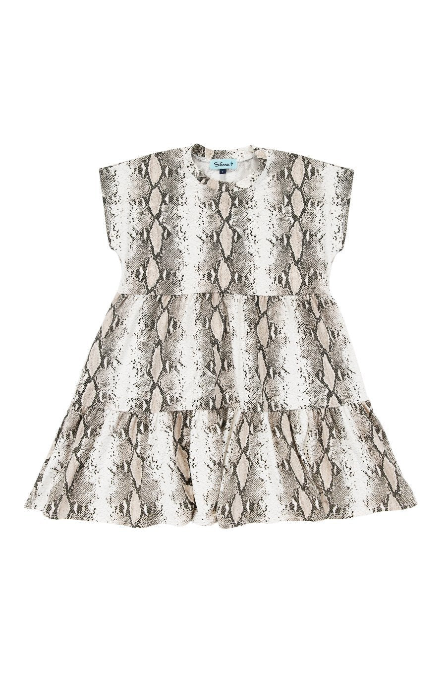 Girls Babydoll Dress - Snake