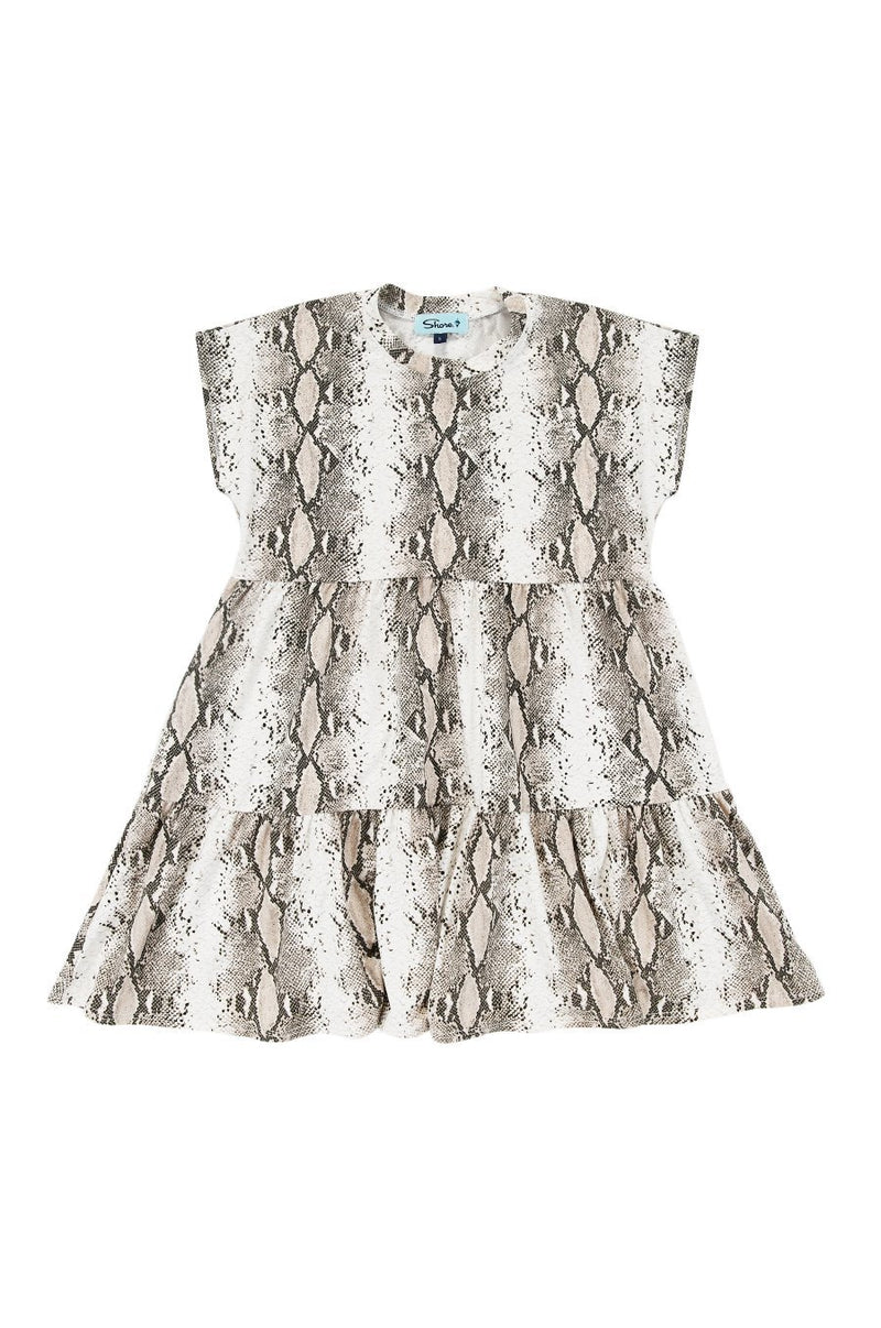 Girls Babydoll Dress - Snake - Shore