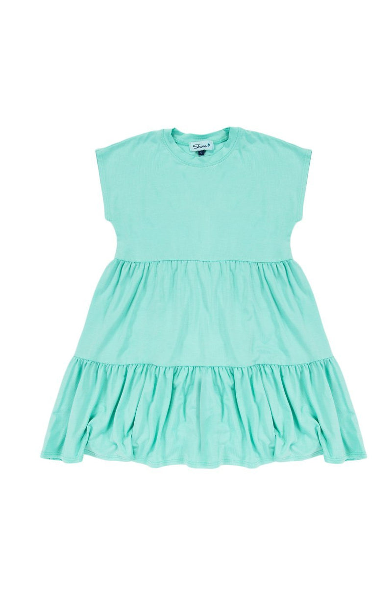 Girls Babydoll Dress - Mint - Shore