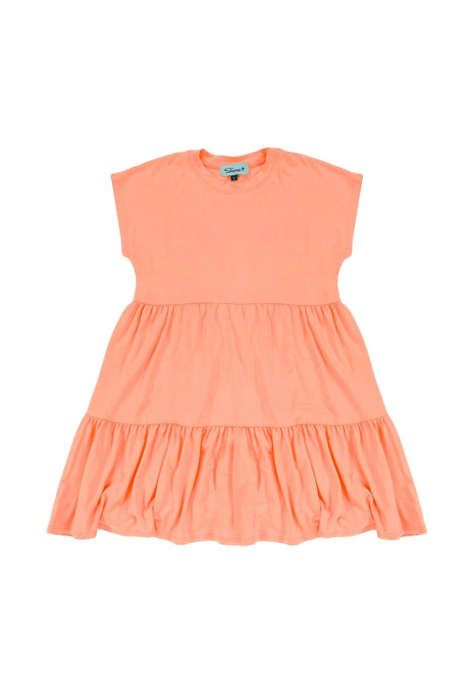 Girls Babydoll Dress - Peach