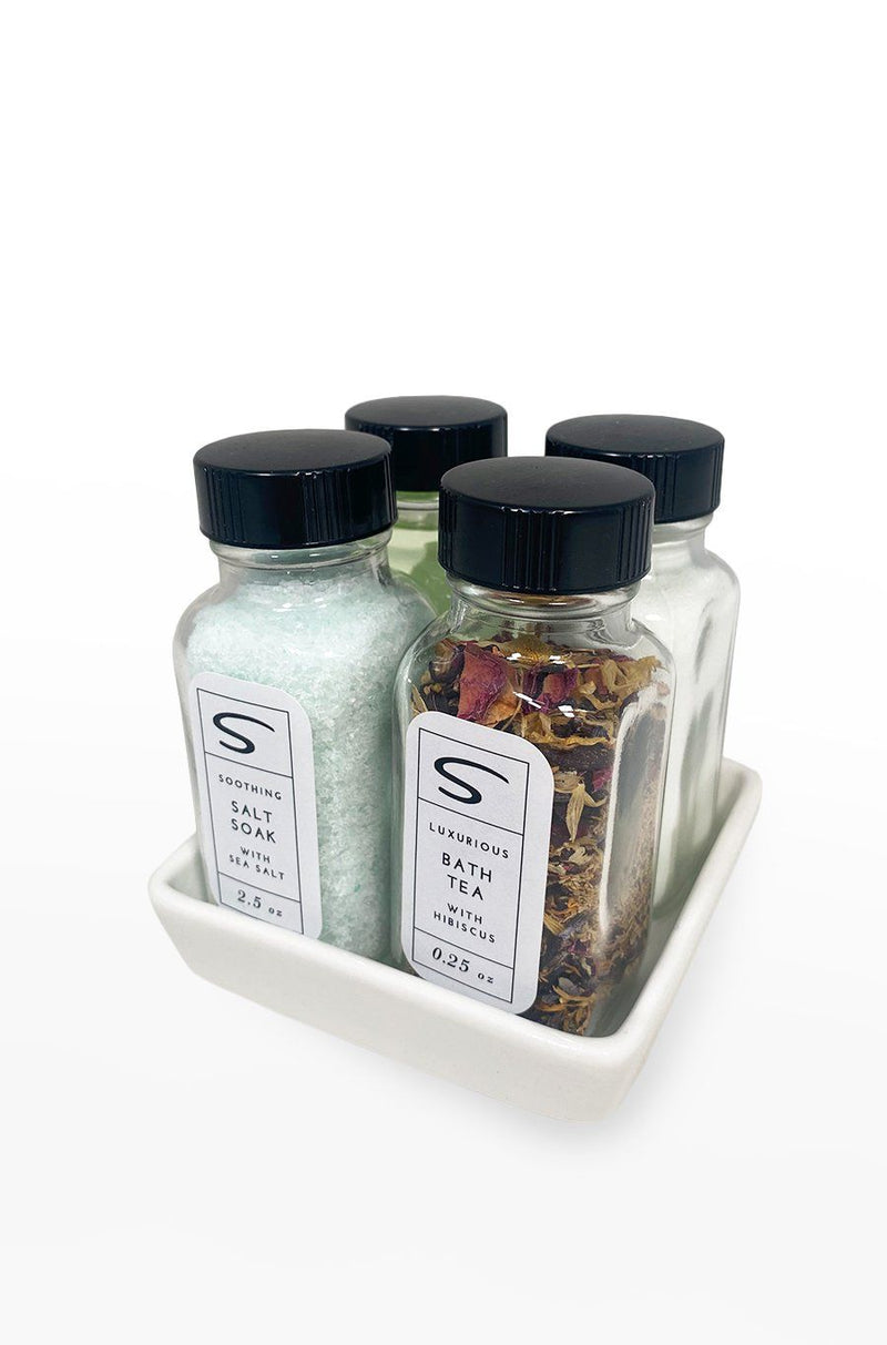Salt & Sage Bath Spa Sample Set - Shore
