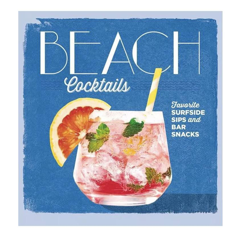Beach Cocktails - Hardcover Book