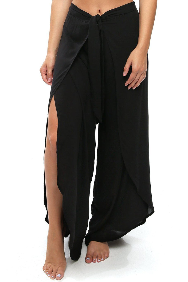 Bella Beach Pant - Black - Shore