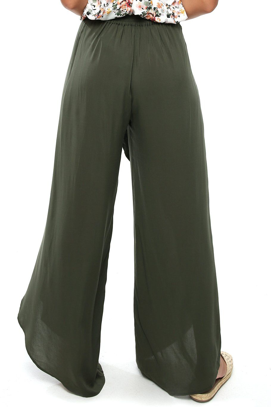 Bella Beach Pant - Forest - Shore