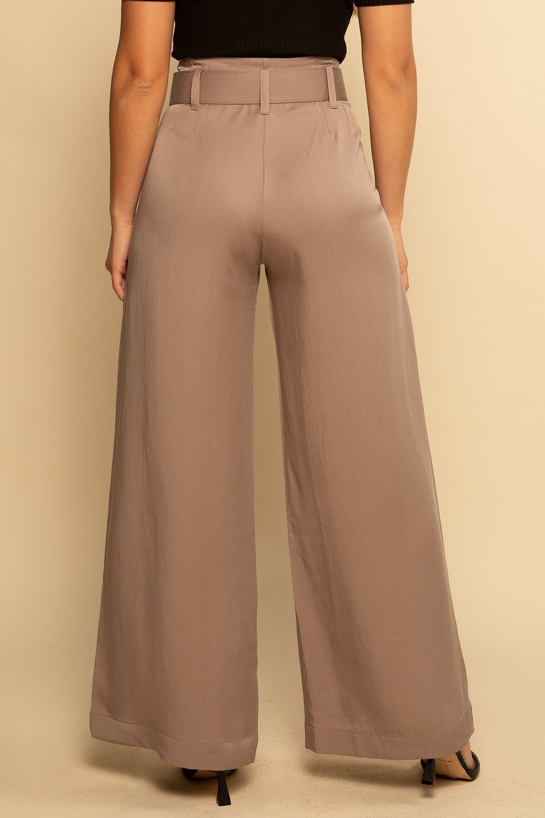 Belted Trouser Pant - Oat - Shore
