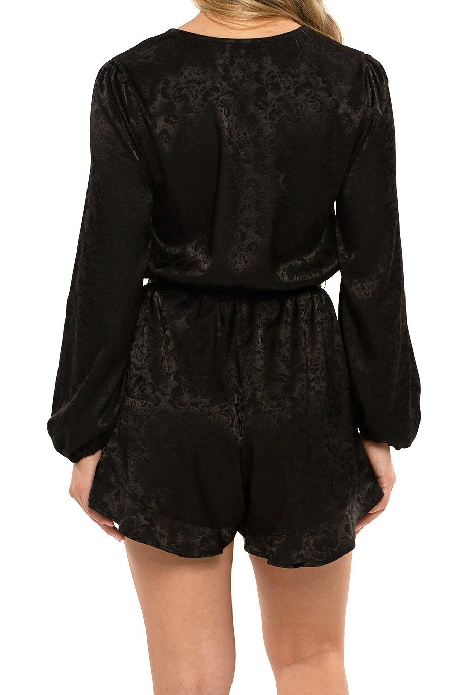 Rendezvous Romper - Black Rose - Shore