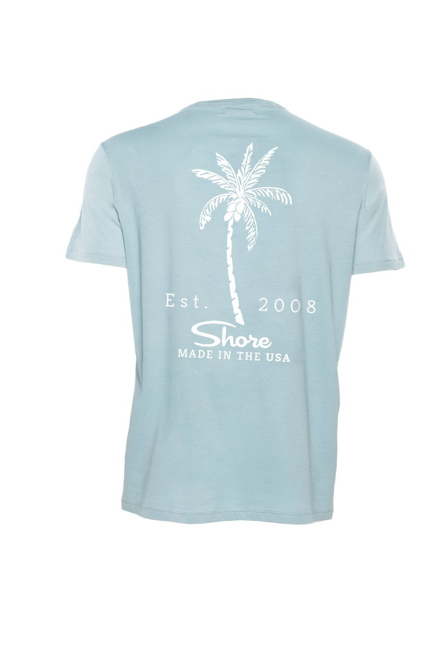 Shore 2008 Crew Tee - Light Blue