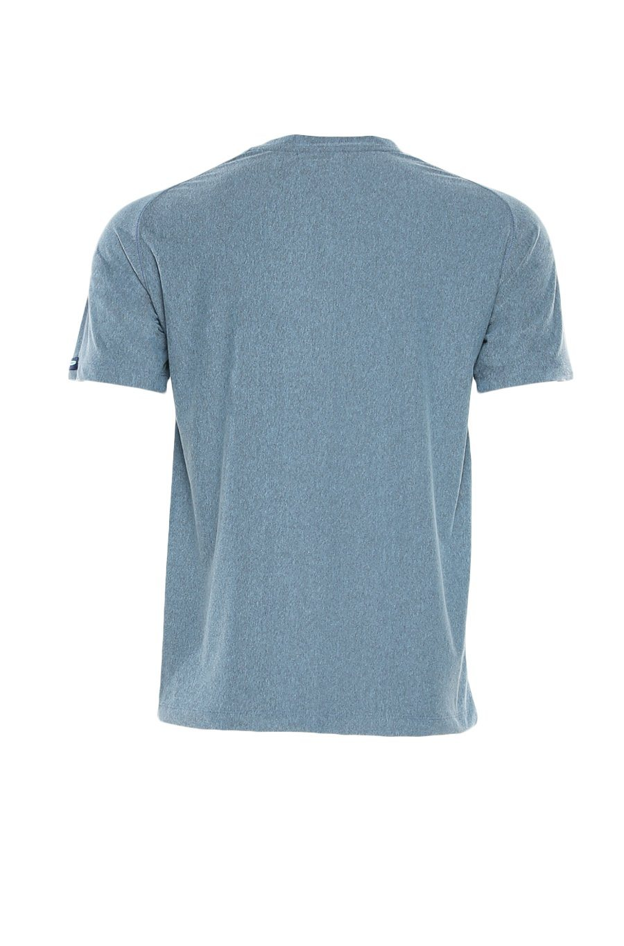 Shore Men's Active Crew Tee - Faded Denim
