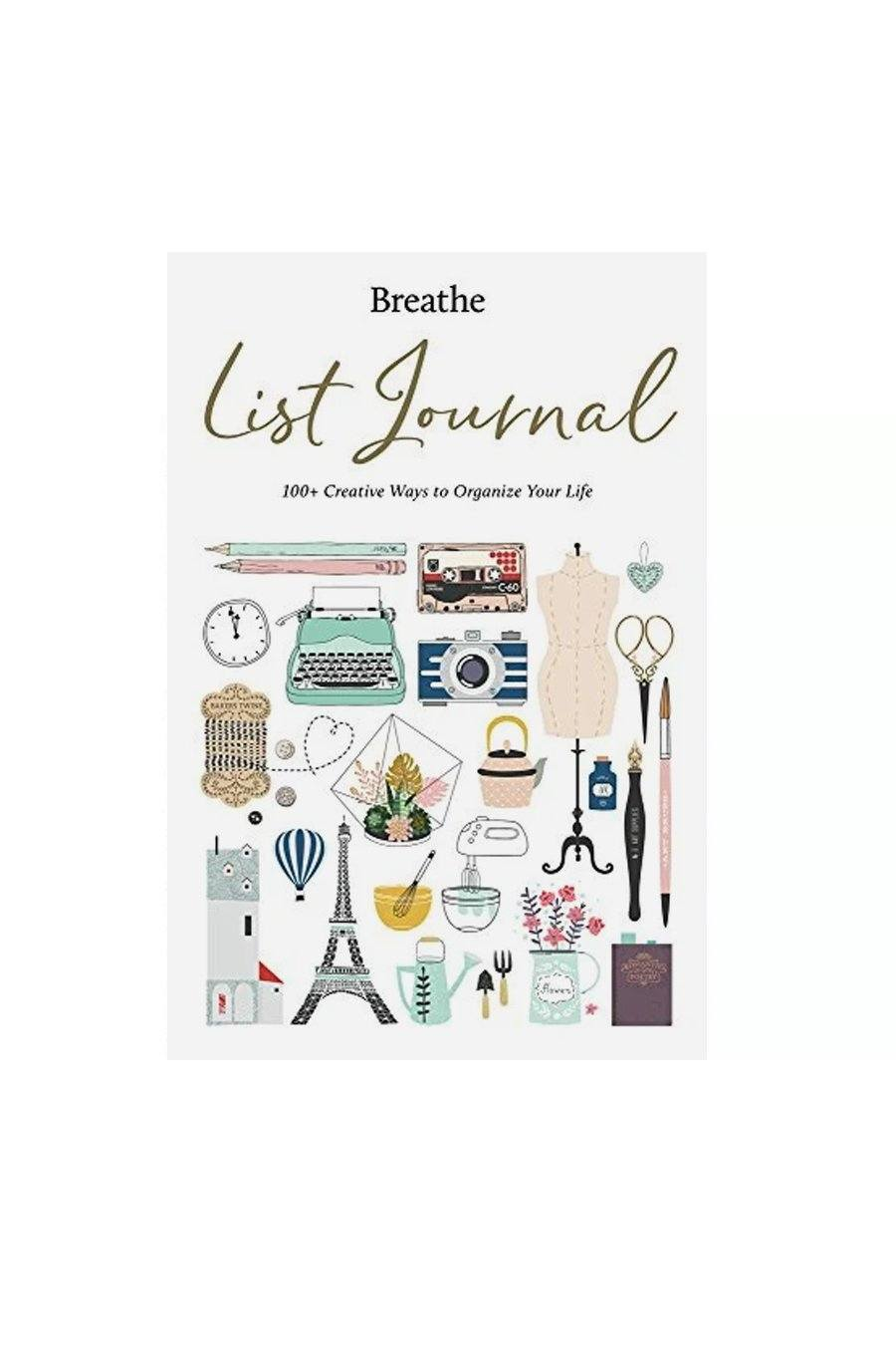 Breathe List Journal | Hardcover Book - Shore
