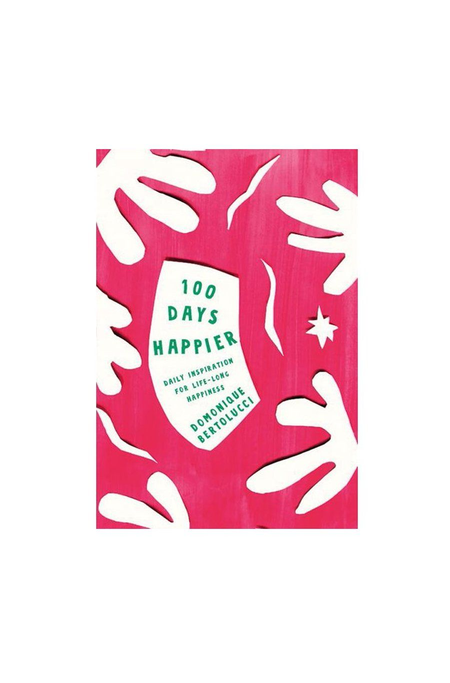 100 Days Happier | Hardcover Book - Shore