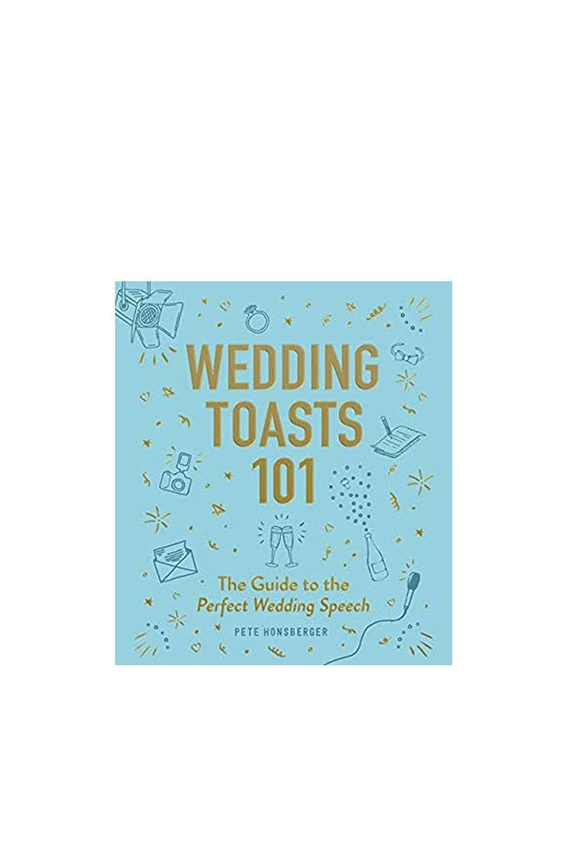 Wedding Toasts 101 | Hardcover Book - Shore