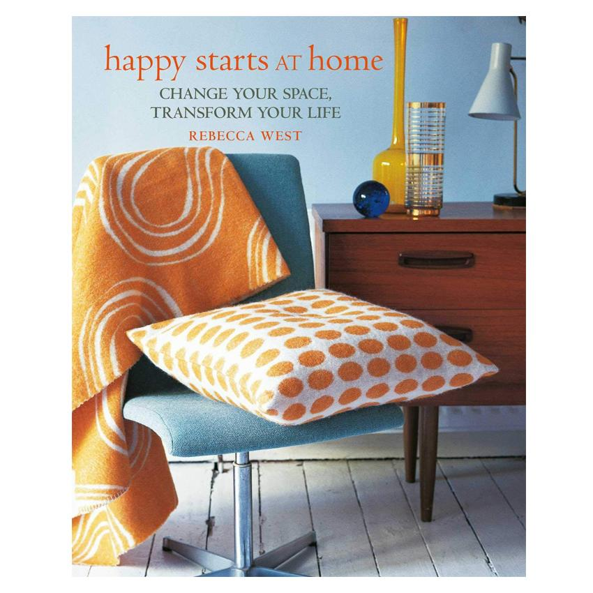 Happy Starts at Home - Hardcover Book