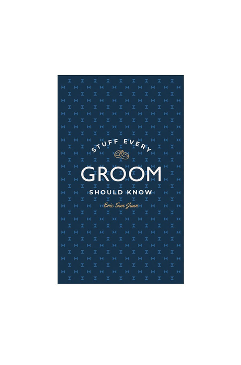 Stuff Every Groom Should Know | Hardcover Book - Shore