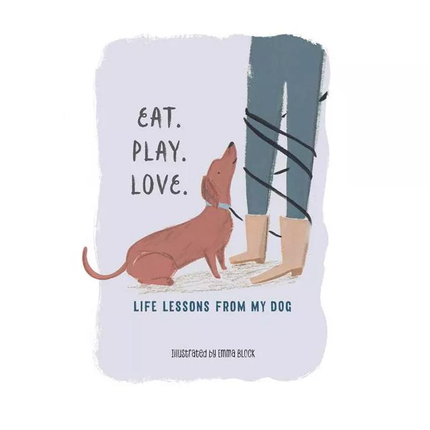 Eat. Play. Love. - Hardcover Book