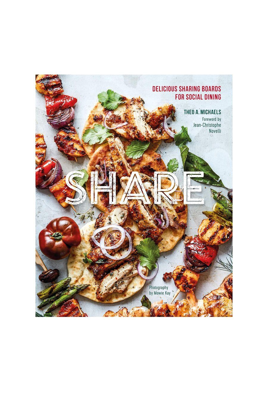 Share: Delicious Sharing Boards For Social Dining | Hardcover Book - Shore