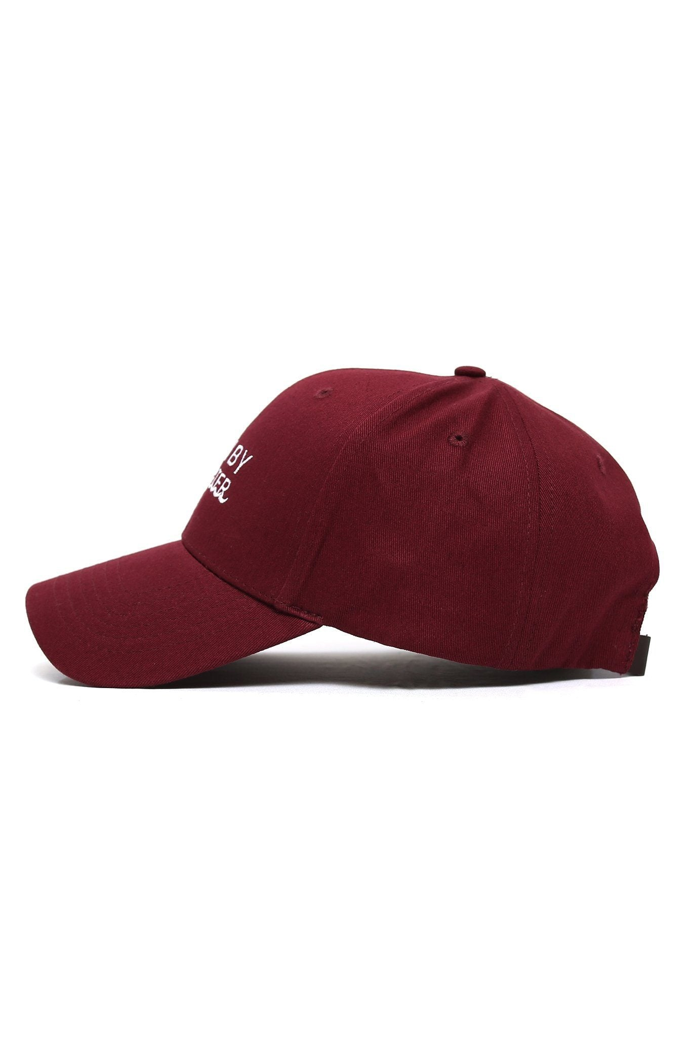 Born By Water Waves Cap - Maroon - Shore