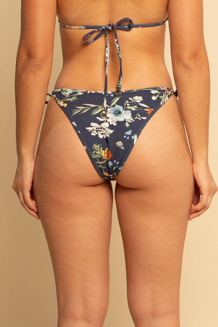 Bahamas High Hip Ring Bottom - Mystical Floral - Shore