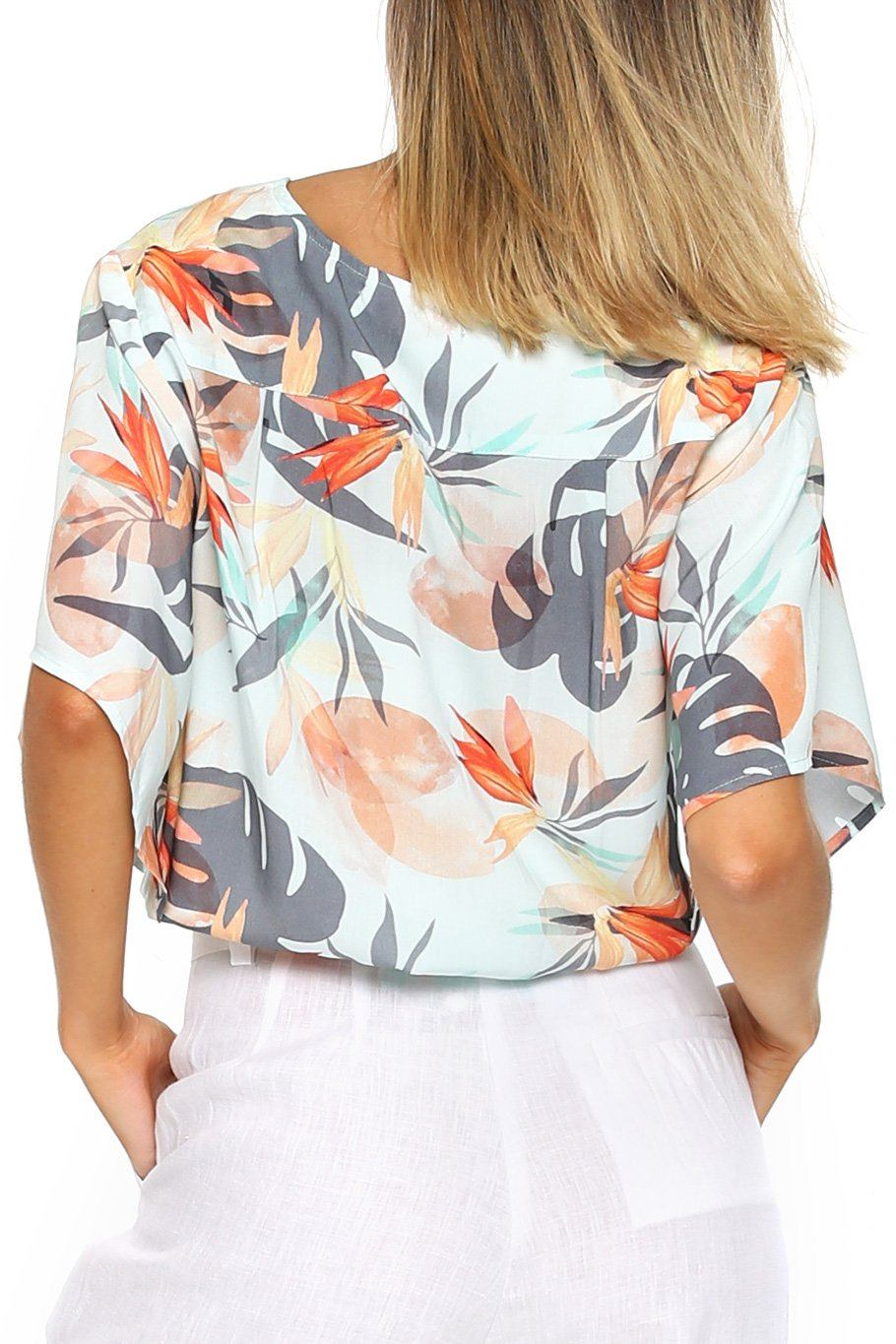 Canary Flutter Sleeve - Paradise - Shore