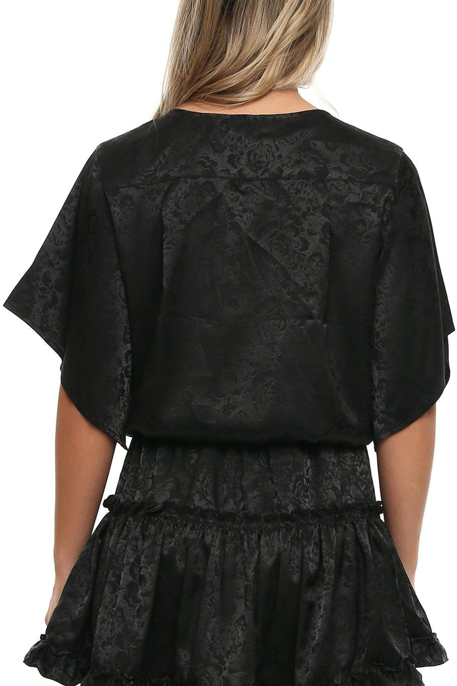 Canary Flutter Sleeve - Black Rose - Shore