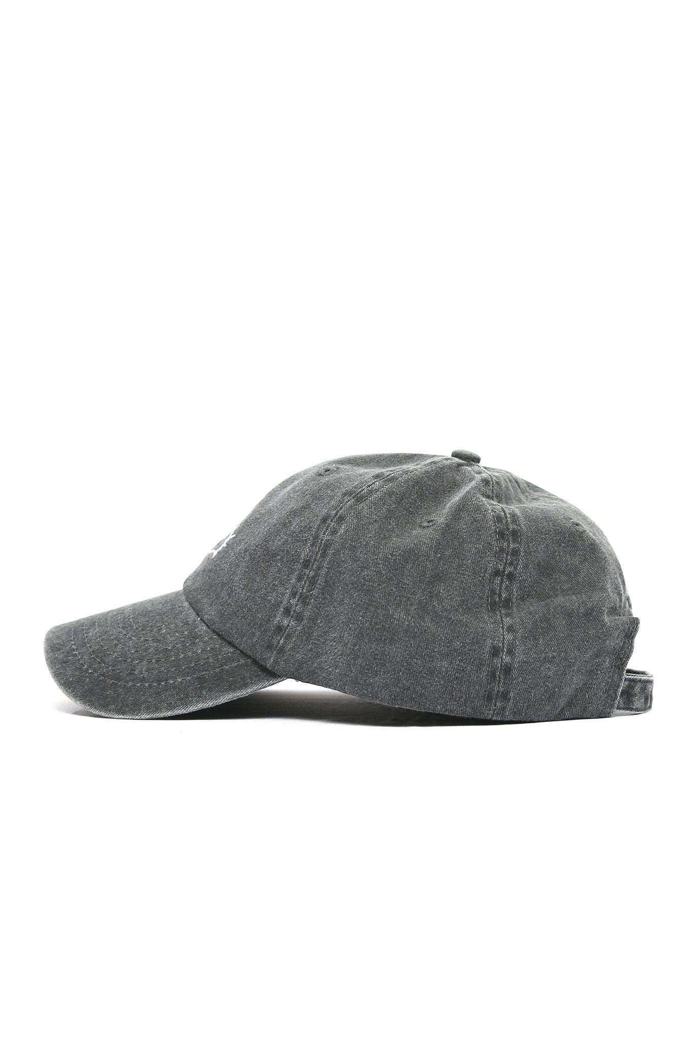 Sun Wave Solid White Logo Cap - Stone - Shore