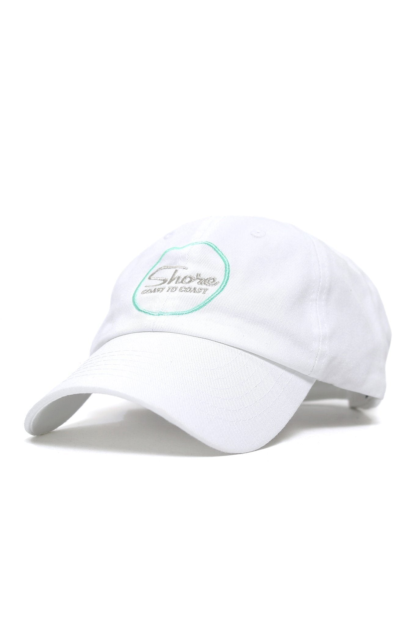Coast to Coast Embroidered Cap - White - Shore