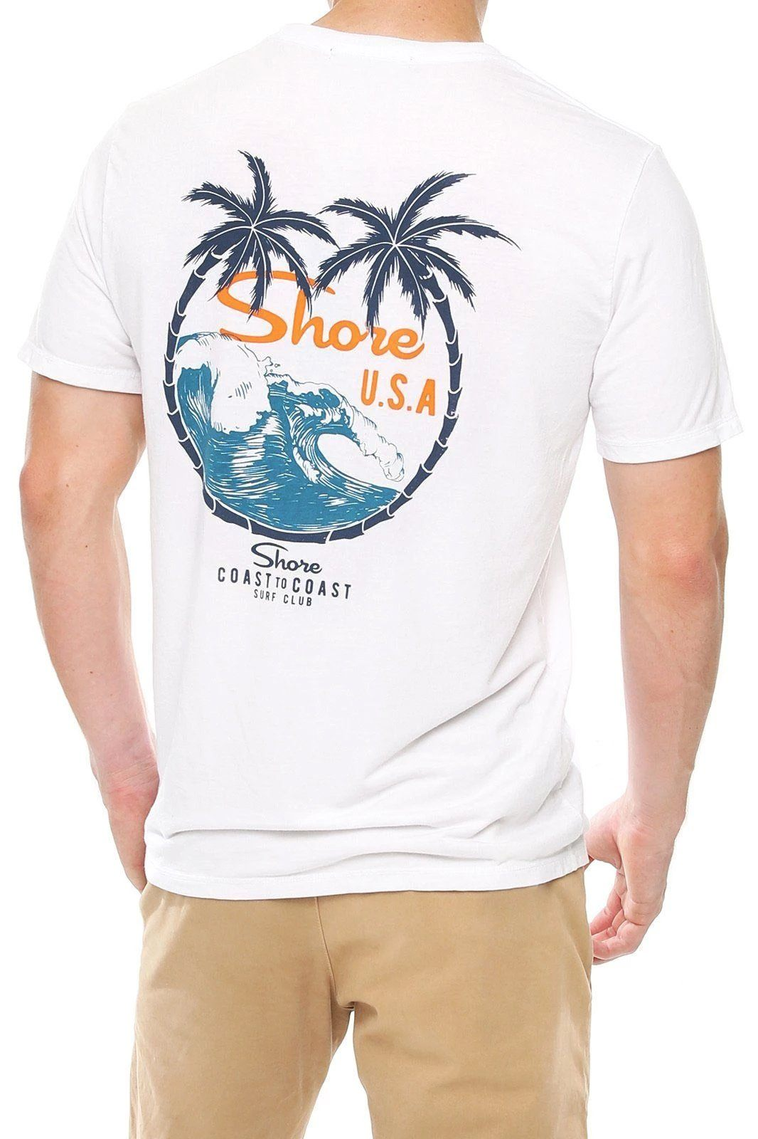Men's Graphic Crew Tee - Shore USA - Shore