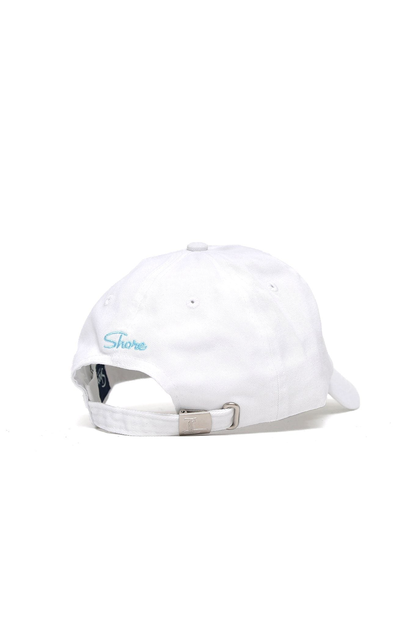 Sun Wave Color Logo Cap - White - Shore