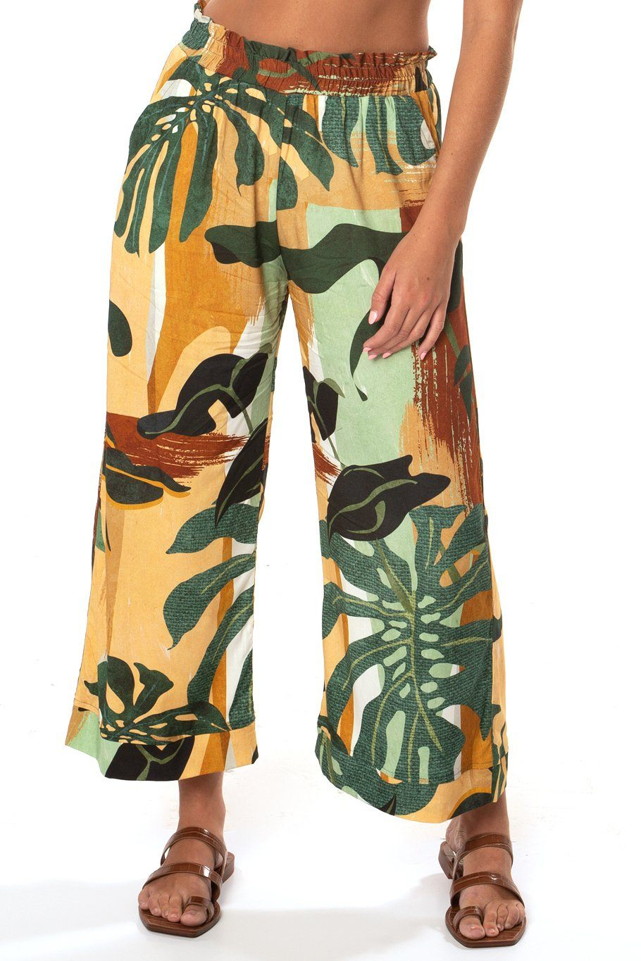 Culotte - Monstera Leaf - Shore