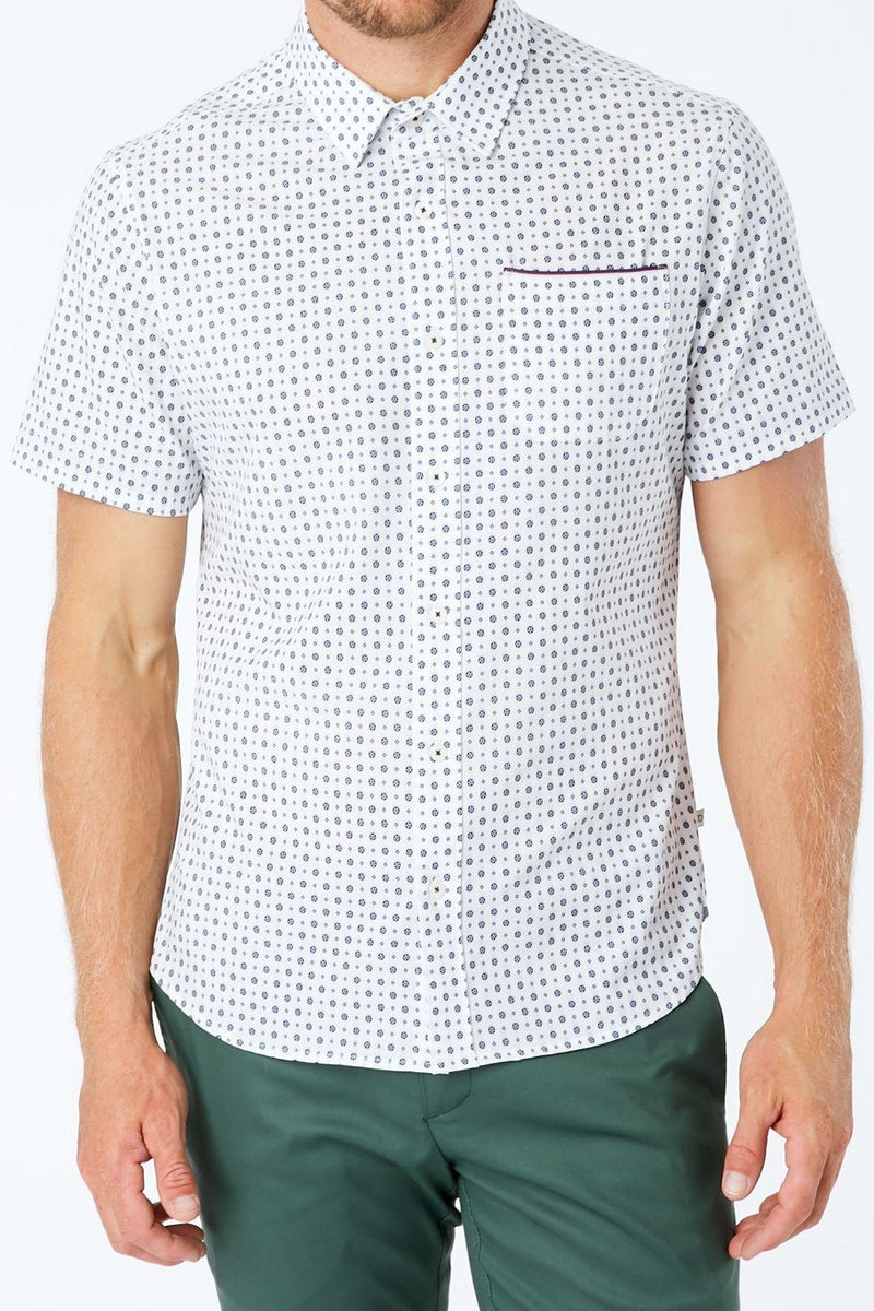 Another Dimension 4-Way Stretch Shirt - White - Shore
