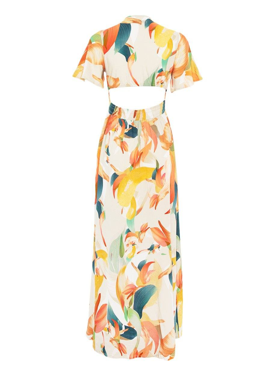 Catalina Cut Out Maxi - Color Splash - Shore