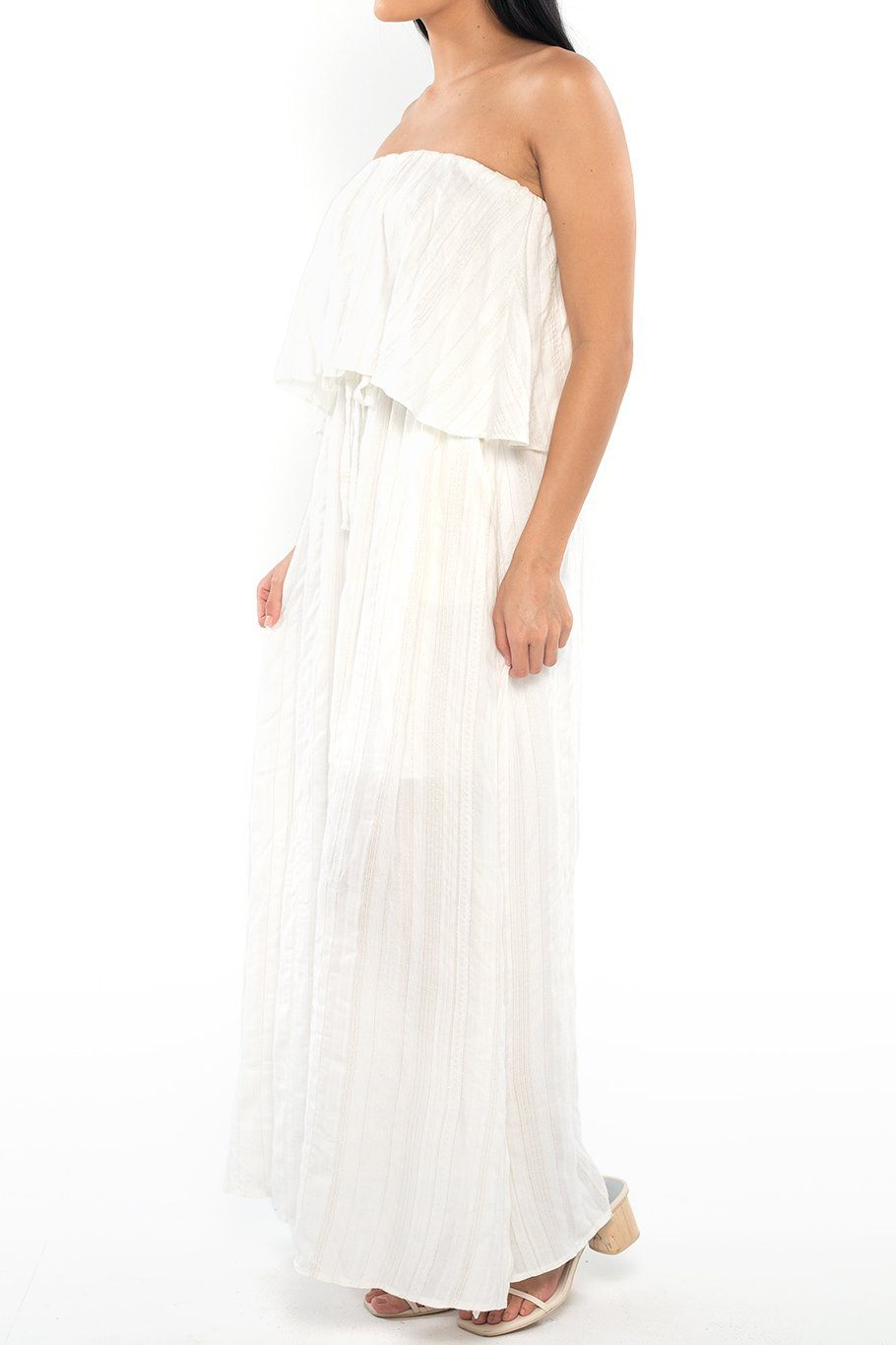 Santa Rosa Layered Maxi - Boho Lurex - Shore