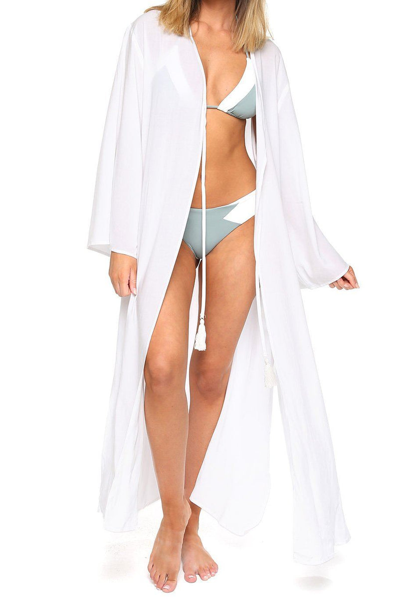 Tassel Duster - White - Shore