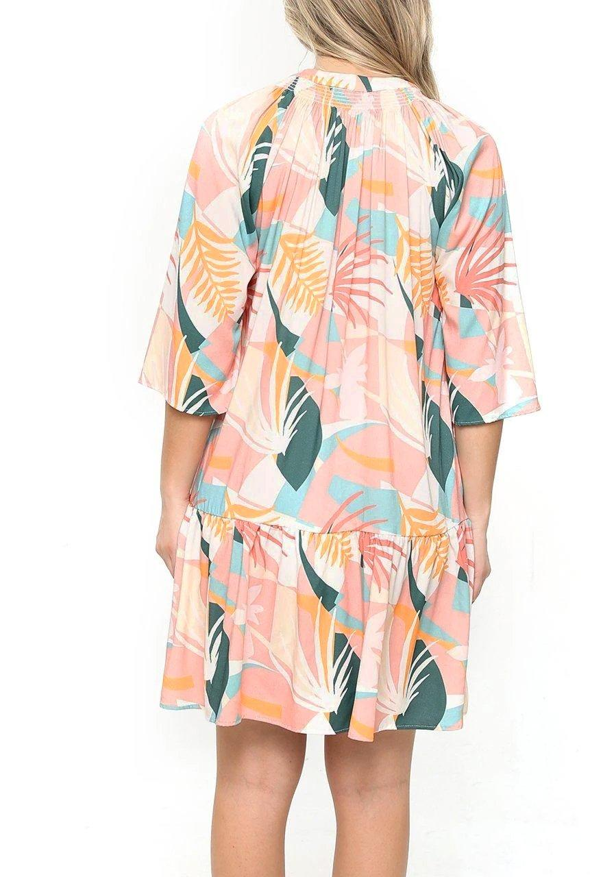 Sanibel Dress - Palm Beach