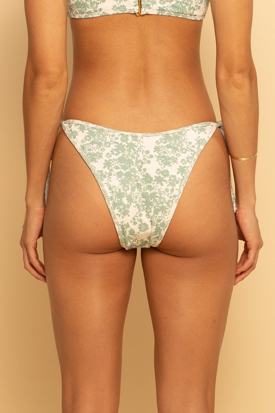 Bahamas High Hip Ring Bottom - Garden Party - Shore