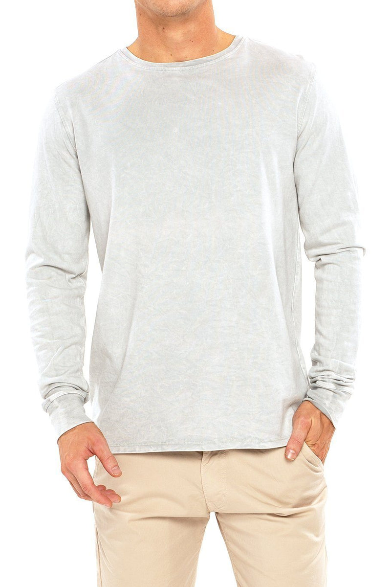 Long Sleeve Crew Tee - High Rise - Shore