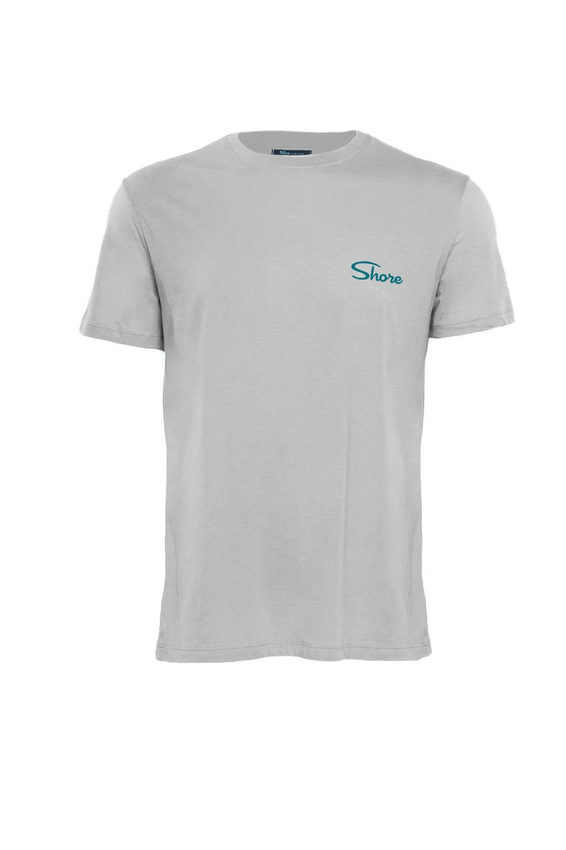Compass Crew Tee - Grey - Shore