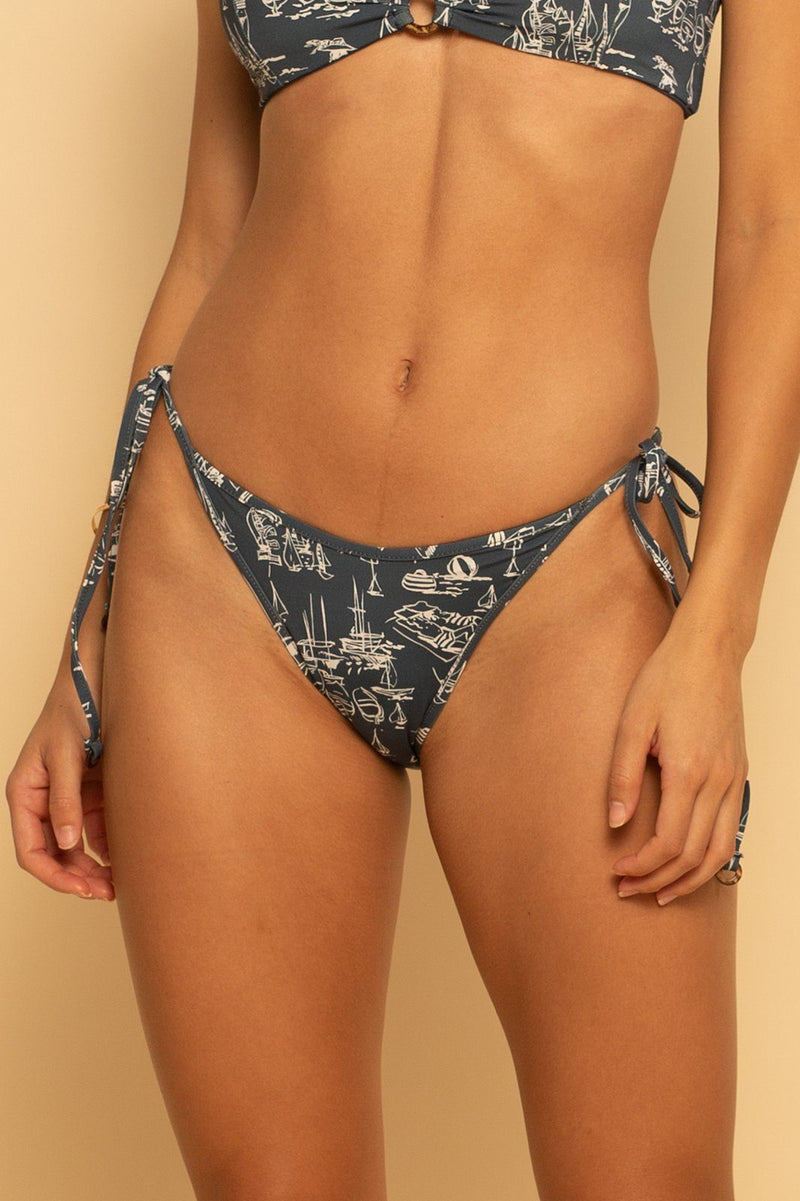 Bahamas High Hip Ring Bottom - Sail Away - Shore