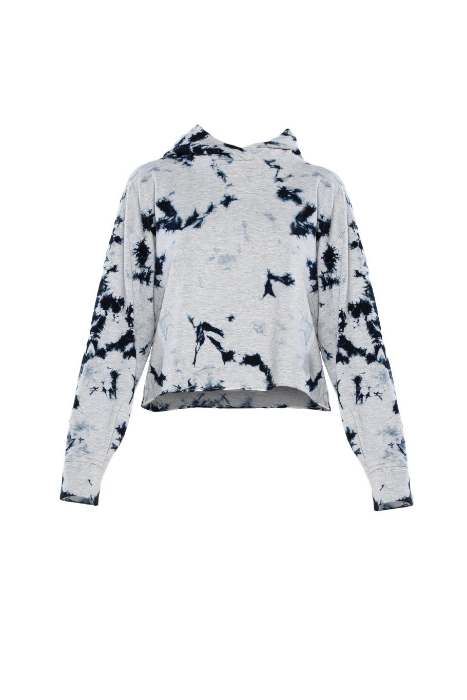 Montreal Pullover - Grey Tie Dye