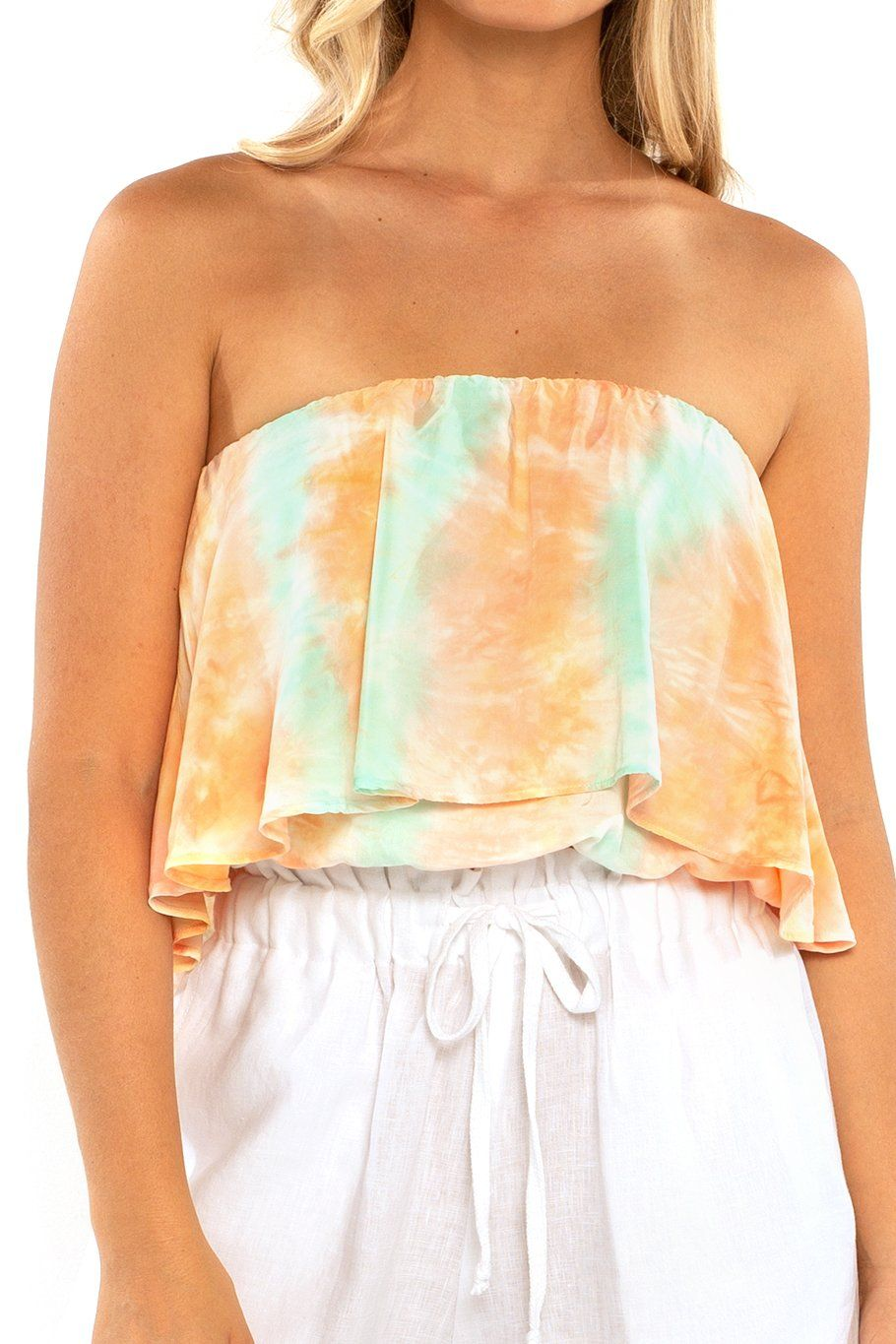 Huntington Layered Top - Sunset Dye