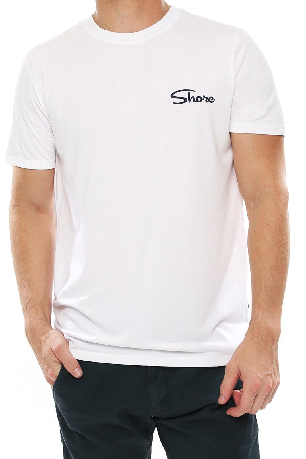 Men's Graphic Crew Tee - Surf - Shore
