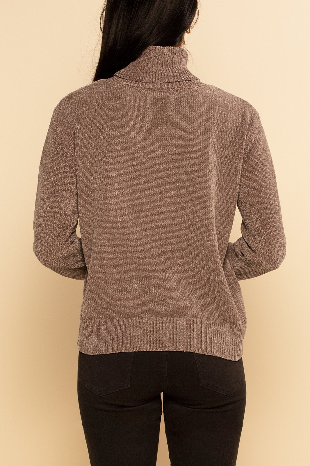 Oslo Turtleneck Sweater - Gray - Shore