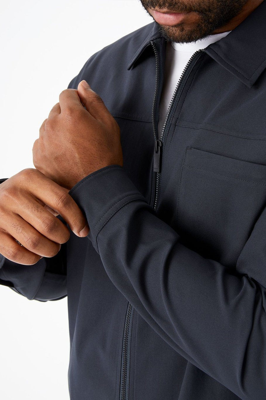 Infinity 4-Way Stretch Jacket - Charcoal - Shore