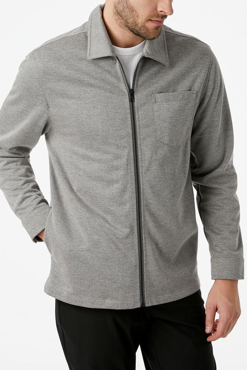 Commuter 4-Way Stretch Jacket - Grey - Shore