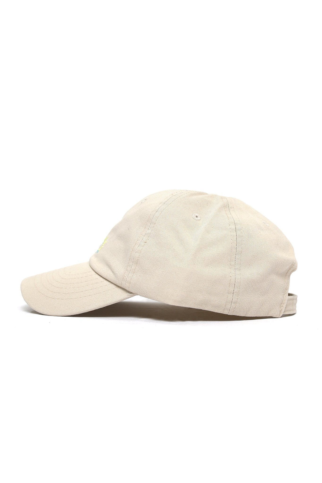 Sun Wave Color Logo Cap - Khaki - Shore